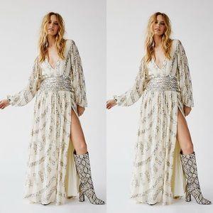 prophecy lapis maxi dress